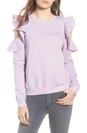Rebecca Minkoff Gracie Cold-Shoulder Sweatshirt